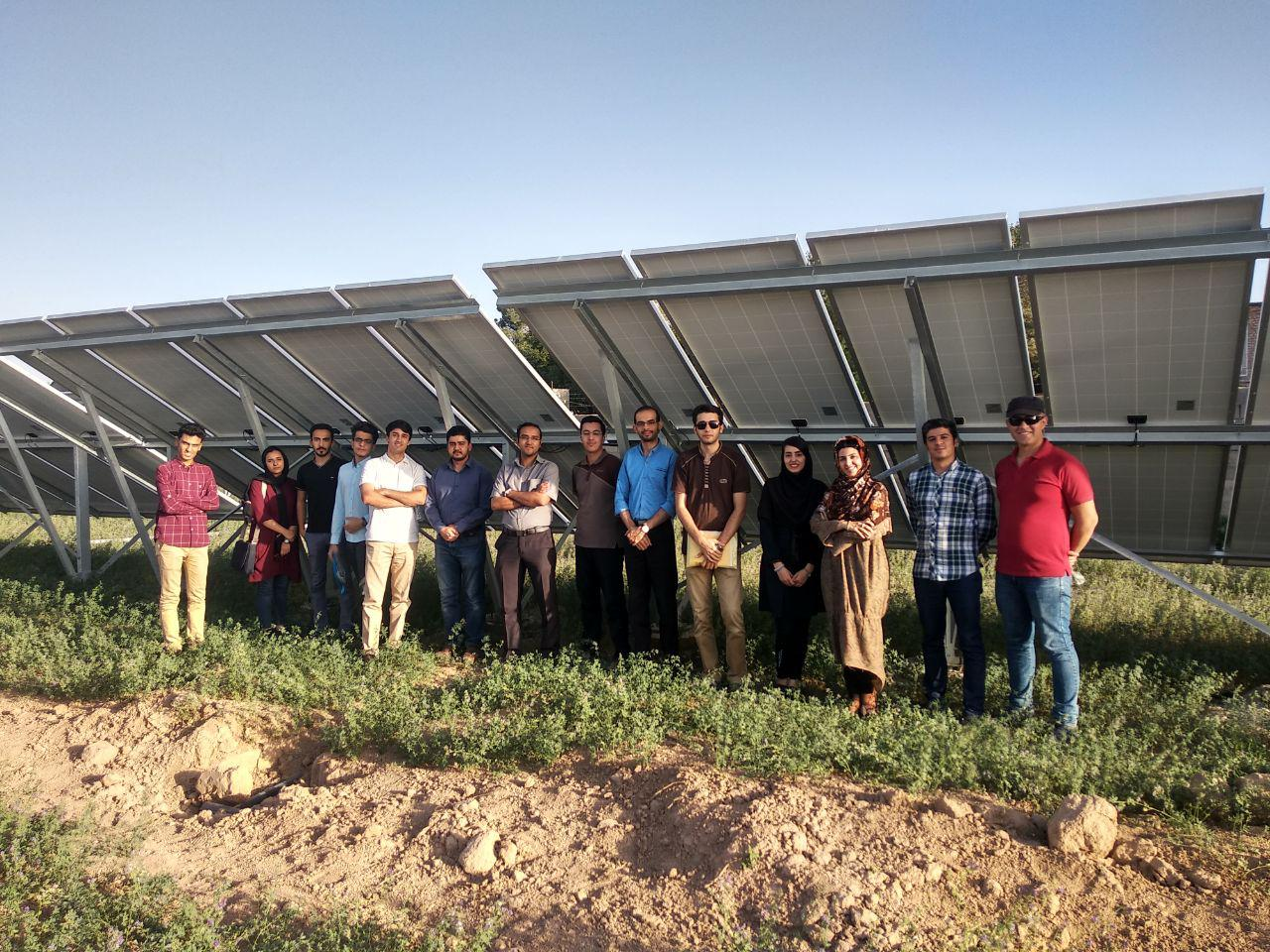 محاسبات طراحی نیروگاه خورشیدی