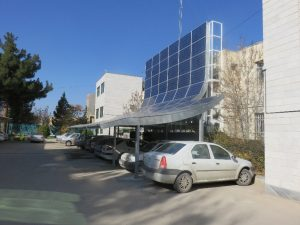 سازه پارکینگ خورشیدی