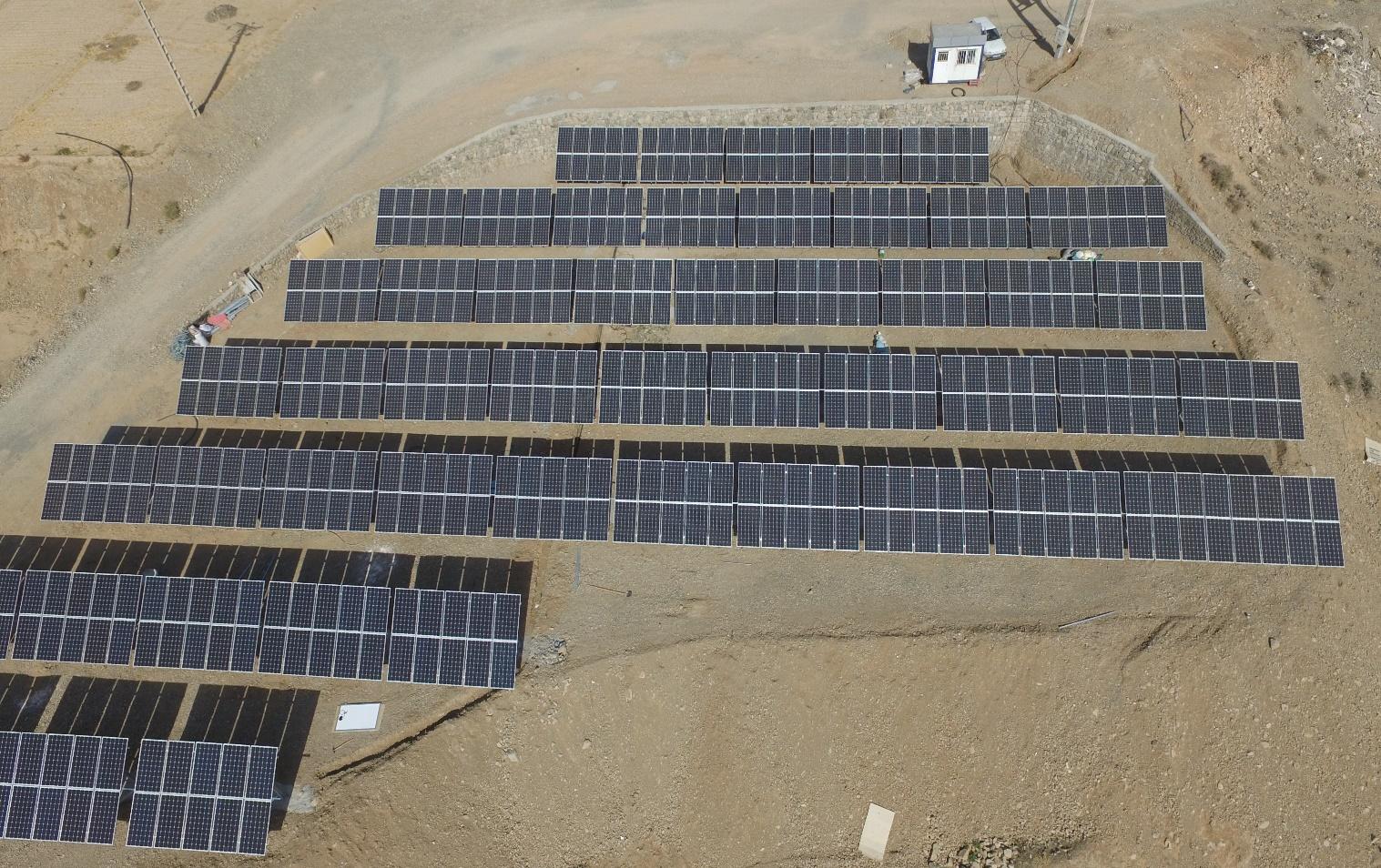 نیروگاه خورشیدی 100کیلووات متصل به شبکه