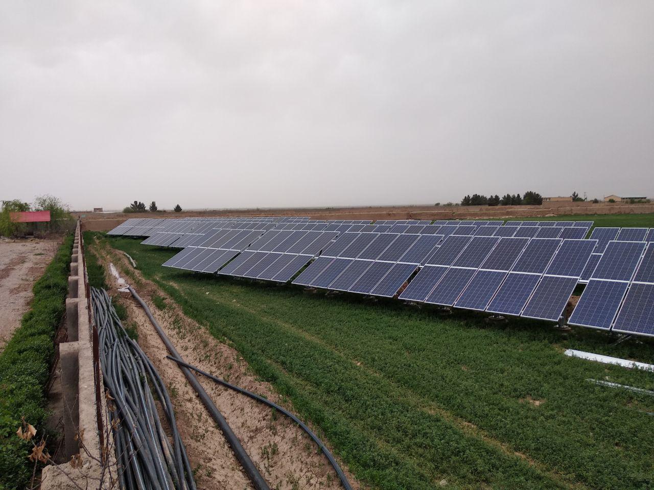 نیروگاه خورشیدی صد کیلووات چناران