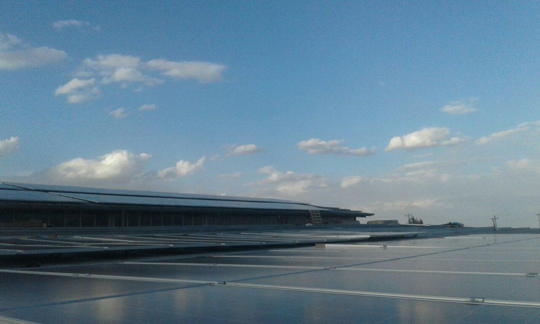 نیروگاه خورشیدی 100 کیلووات کاخک گناباد