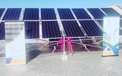 نیروگاه خورشیدی 15 کیلووات استانداری خراسان رضوی