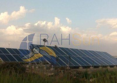 نیروگاه خورشیدی 20 کیلووات اداره کل راهداری و حمل و نقل جاده ای اراک
