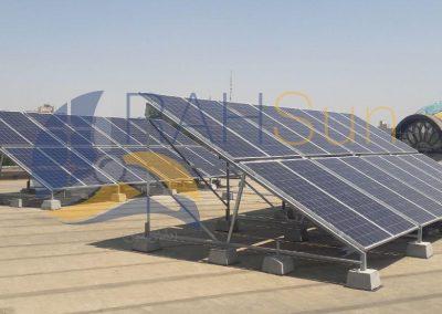 نیروگاه خورشیدی 10 کیلووات پارک ملت