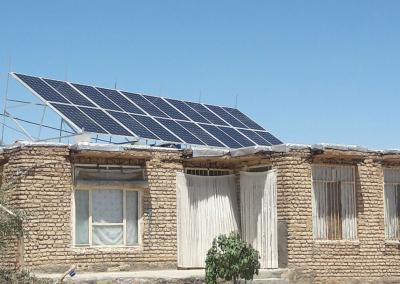 مولد خورشیدی خانگی