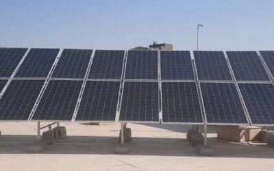مراحل احداث نیروگاه خورشیدی