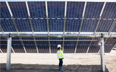 نیروگاه خورشیدی با پنل دو طرفه (Bifacial)