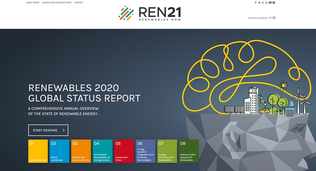 گزارش وضعیت تجدیدپذیرها 2021